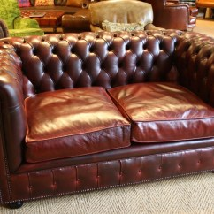 Leather Chairs Of Bath Three Seater Lansdown Fishing Chair Folding Oxblood 2