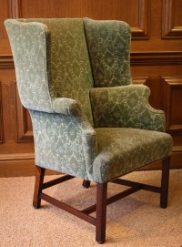 Leather Chairs of Bath Antique Wing Chair Chelsea Design ...