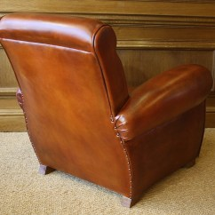Leather Chairs Of Bath Office Chair With Ottoman French Club Chelsea