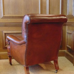 Leather Chairs Of Bath London Executive Chair Chelsea Design Quarter Antique Library With Cherrywood Legs Boxwood Inlay