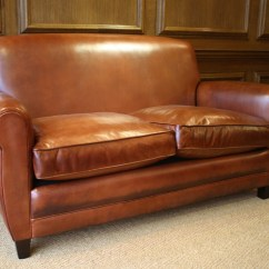 Leather Couch And Chair Rental In Chicago French Sofa Siege En Cuire Francais 20th