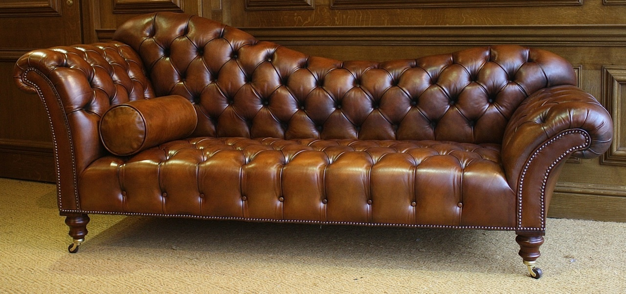 Leather Chairs of Bath Leather SofaChaise Longue