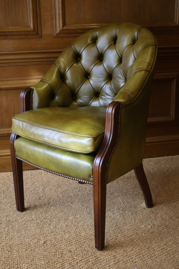 Leather Desk Chair Chairs Of Bath