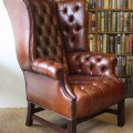 Design quarter leather club chair leather chairs of bath antique