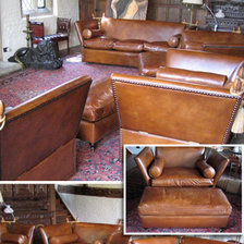 leather chairs of bath three seater lansdown swivel chair bearing knole sofa, settee, knoll traditional english sofa ...
