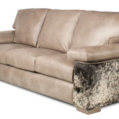 Custom Leather Sofas Indoor Wicker Sofa Couture