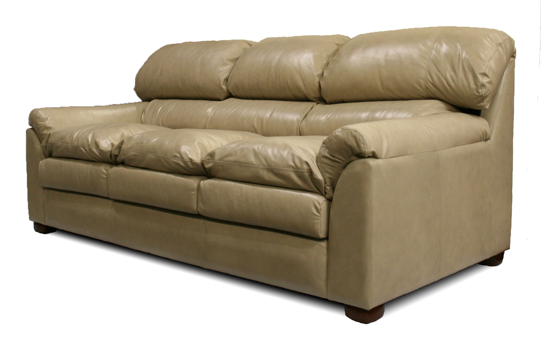 deep leather sectional sofa half circle grand canyon  furniture