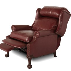 Wing Back Chair Recliner Office Target Wingback  Leather