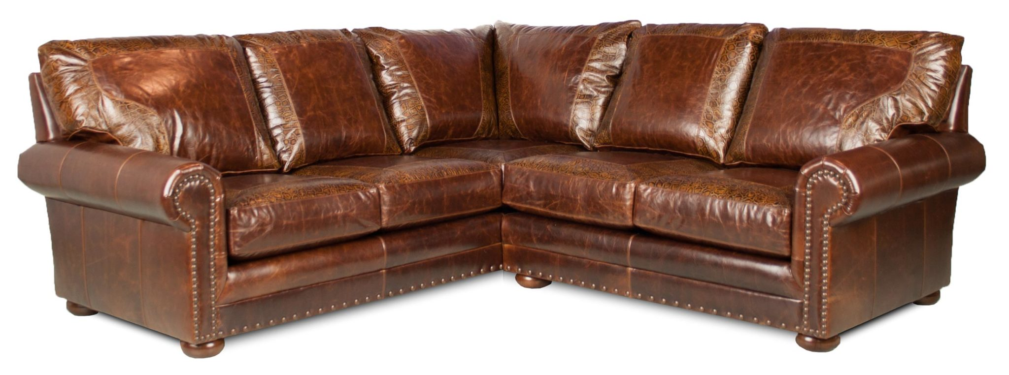 baseball leather sofa corey chocolate brown sectional austin