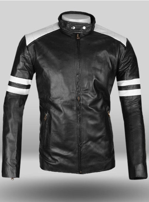 Black Fight Club Leather Jacket  LeatherCultcom Leather