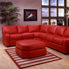 Albany Leather Sofa White Sectional Express Furniture