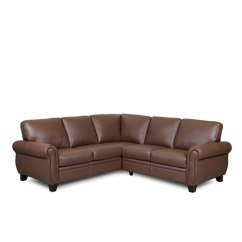 Directions To Living Room Theater Boca Raton Tv Shelves Design Meadowridge Leather Sectional · Express Furniture