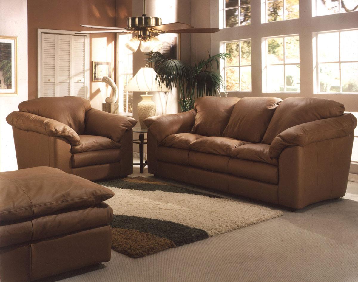 Oregon Leather Sofa Leather Express Furniture