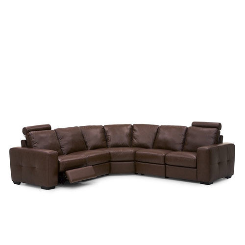 Push Leather Sectional Leather Express Furniture