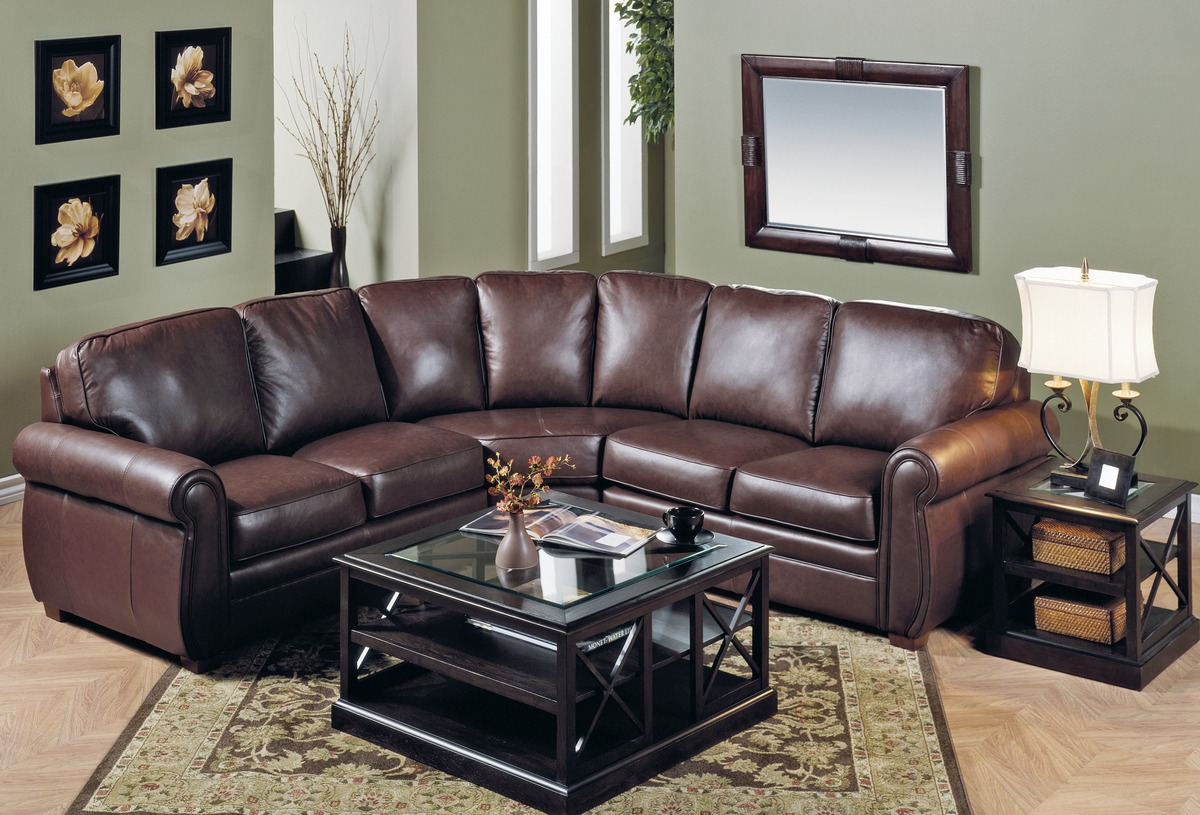 Viceroy Leather Sectional Leather Express Furniture