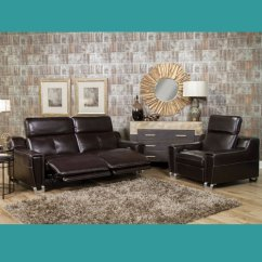 Directions To Living Room Theater Boca Raton In Taviano Leather Reclining Furniture · Express ...