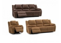 Jillian Leather Reclining Sofa & Set