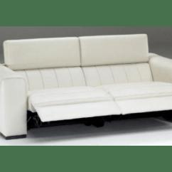 Electric Reclining Sofa Set Florida Natuzzi Editions B790 Forza & | Adjustable Headrest