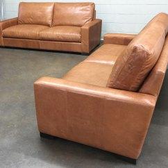 Leather Sofa Nova Scotia Soho Red 84″ Braxton Sofas In Italian Glove Chestnut ...