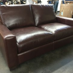72 Lancaster Leather Sofa Set Online Purchase In Coimbatore Braxton Range Chocolate 43 Inch Depth The Right Front View Of Our Italian