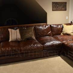 Black Leather Corner Sofa Recliner Bed Abu Dhabi Michael's Langston Sectional | The ...