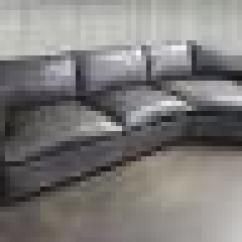 Next Brompton Leather Sofa Karlstad With Chaise Reno Sectional Cuddler :: Leather...