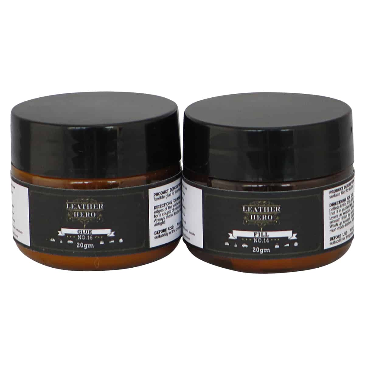 Leather Surface Filler Amp Leather Glue Kit