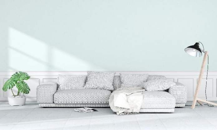 how to clean white leather sofa