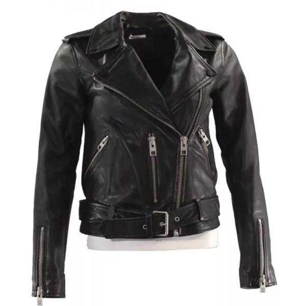 Camila Morrone Death Wish Leather Jacket