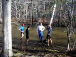 First River Crossing 4/18/11 - Photo by Margo Sterling
