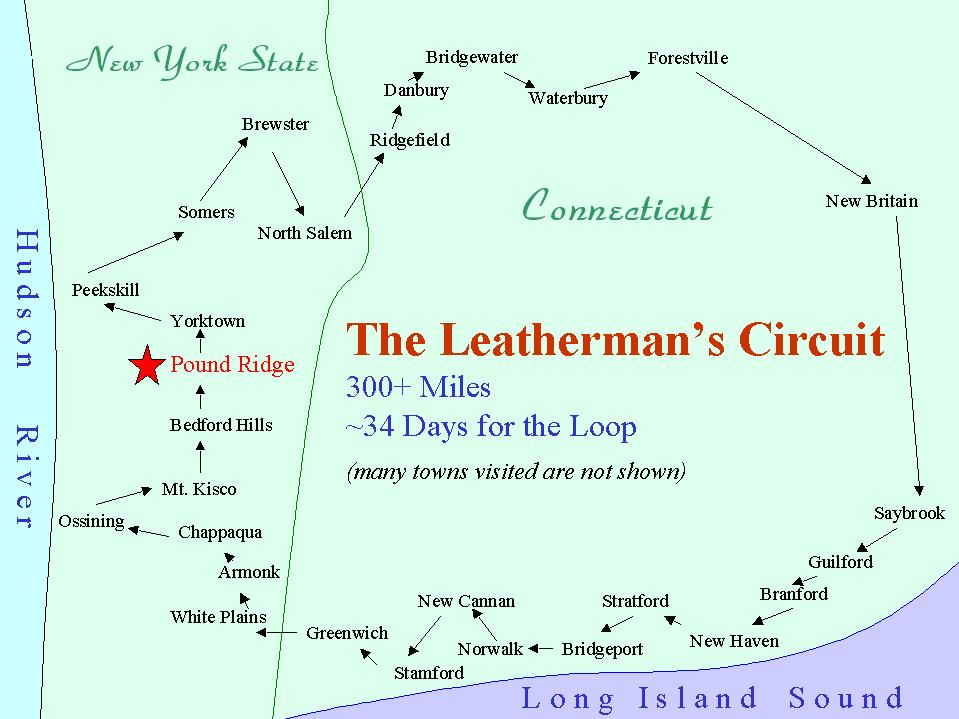 The Legend of The Leatherman – The Leatherman's Loop