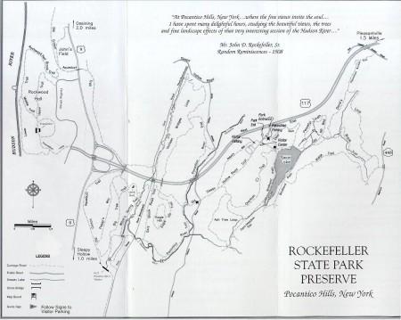 How Do You Train?: Rockefeller State Park Preserve