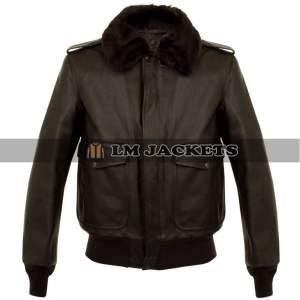 Cafe Racer Vintage Retro Motorcycle Black Leather Jacket
