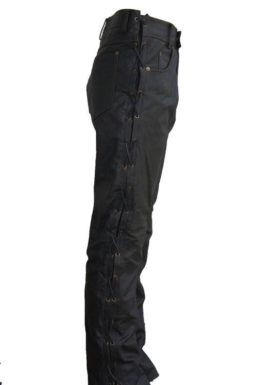 Leather Palace Veter Broek heren