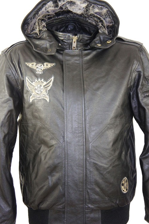 Leather Palace Pilotenjas heren