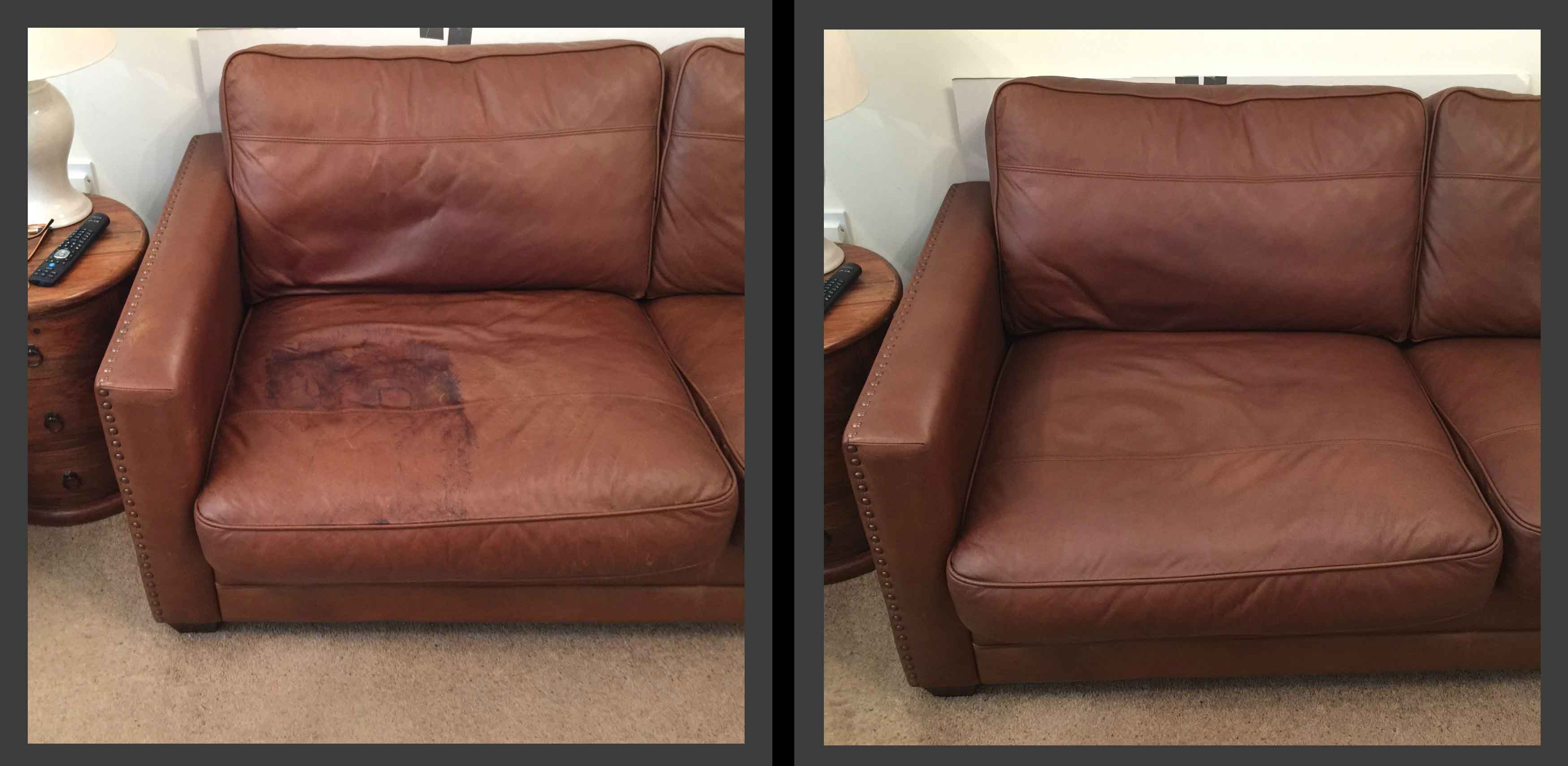 how to repair a leather sofa from cat scratches bed futon cover 3 simple ways on furniture