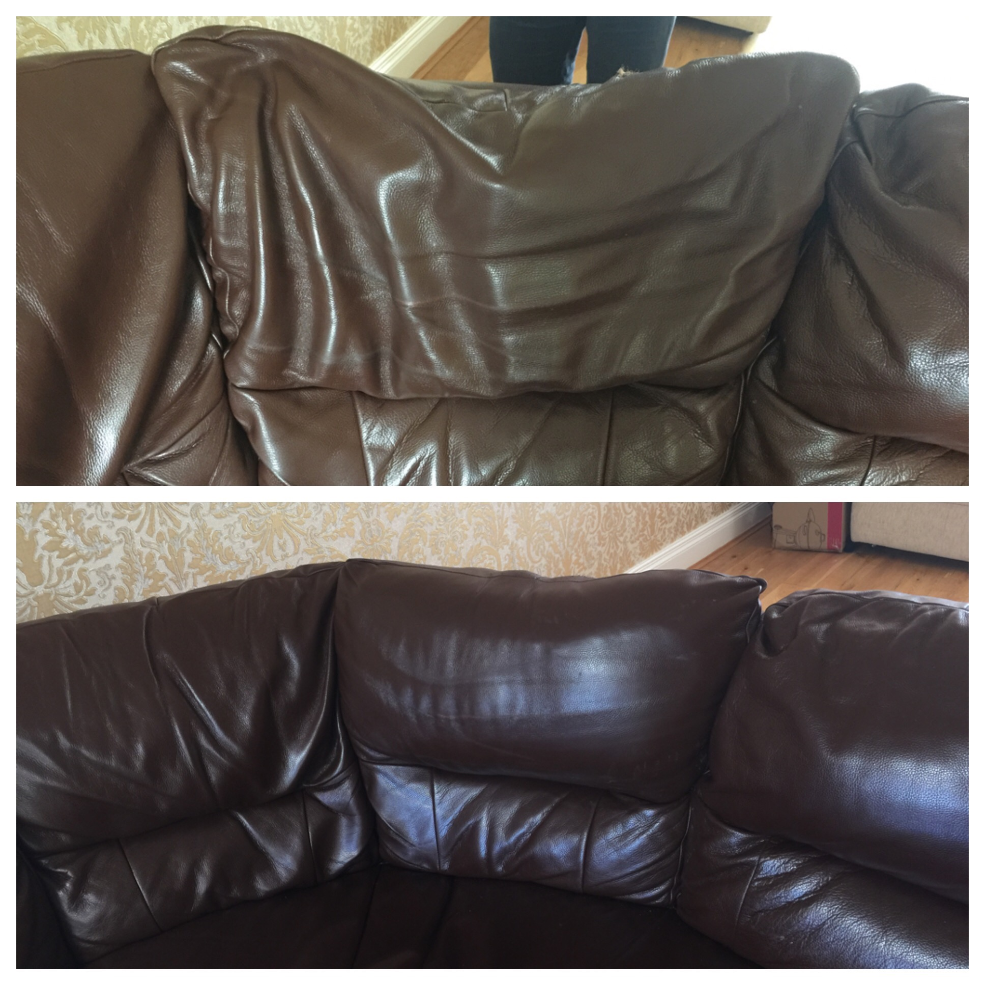 restoring leather sofa high point florence sc re pading restore cleaning