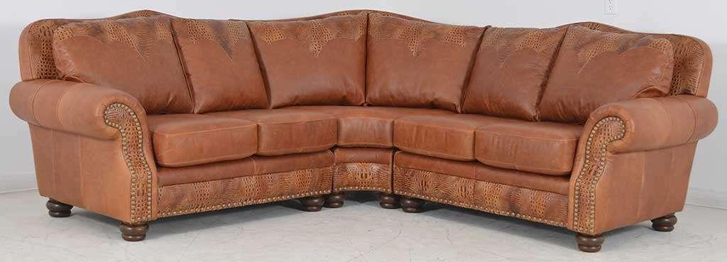 macy s orange sectional sofa high quality sofas sydney terracotta leather cindy crawford home lusso papaya ...