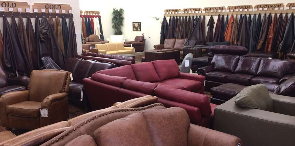 vintage leather sofa company table with drawers and shelf outlet store the co in lewisville tx