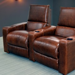 Leather Couch And Chair Revolving Repair In Indore Home The Sofa Company Theater Seating
