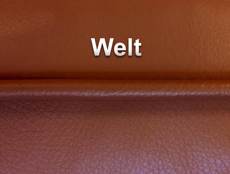 Stitching Options The Leather Sofa Company