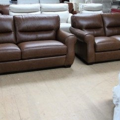 Vintage Leather Sofa Company Sofas And Chairs Roseville Mira 3 Seater 2 Tan 1399 Swansea Superstore