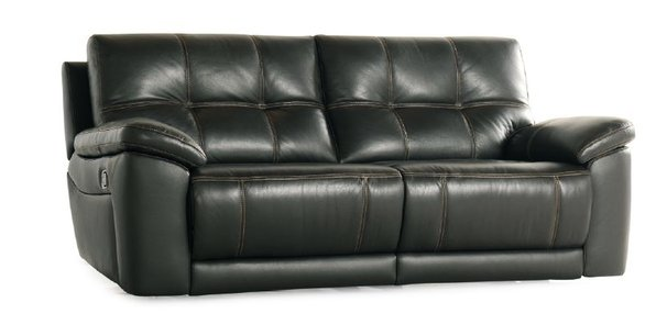 modena 2 seater reclining leather sofa flexsteel westside company electric recliner range