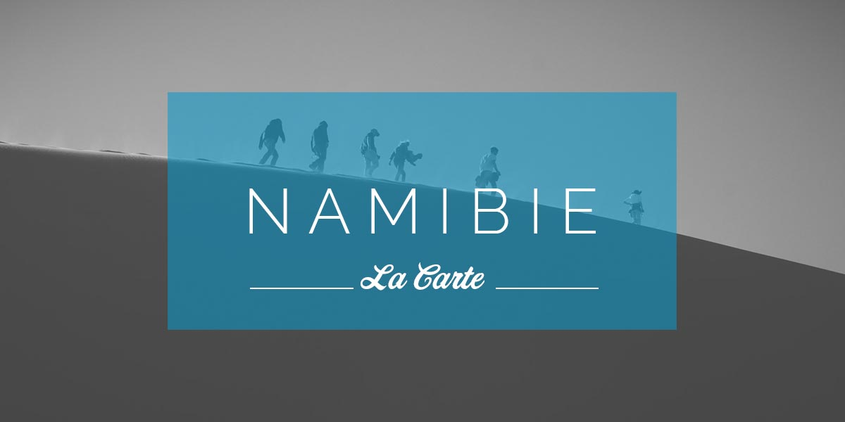 Carte Namibie