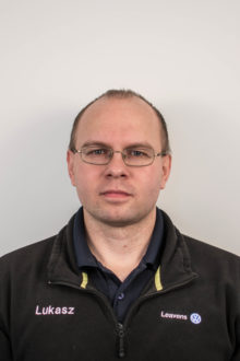 Lukasz Kaczmarek - Assistant Parts Manager