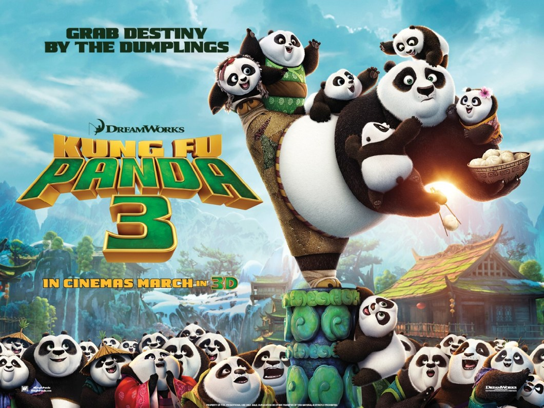 Image result for kung fu panda 3 poster