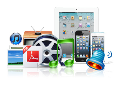 Direct Transference/Storage of Media Files, Apps and PDF