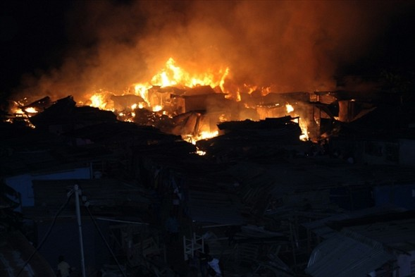 Un village de Grabo incendié par des inconnus