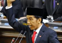 Pidato-pertama Presiden Jokowi