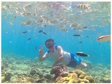 Wisata bawah Laut Di Sumatera